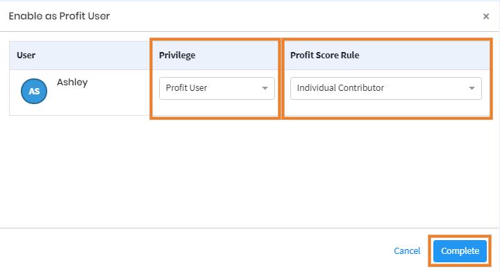 Profit Score