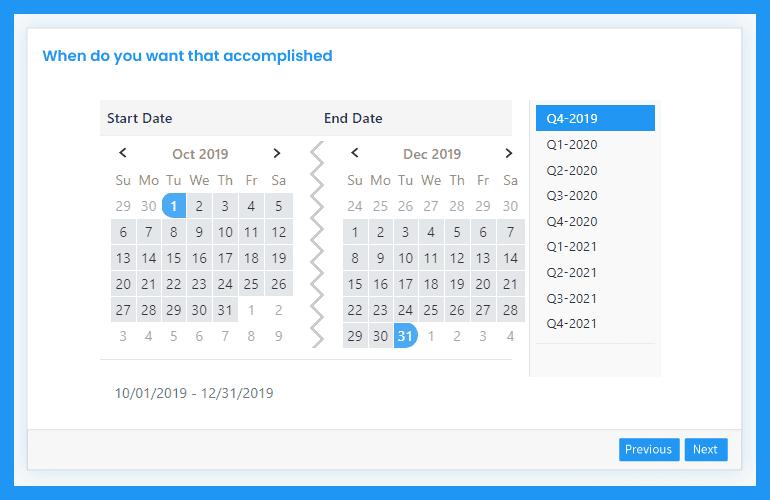 Set Target Date
