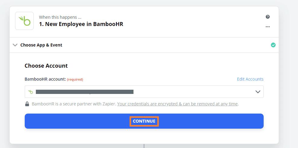 new employee bamboo hr